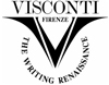 VISCONTI EROTIC ART CASANOVA BLACK & ROSE GOLD FOUNTAIN PEN